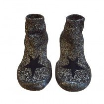 Collegien Slippers - Silver Star by NUNUNU