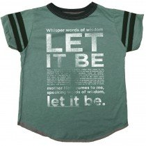 Rowdy Sprout - Let It Be - Short Sleeve Varsity Tee