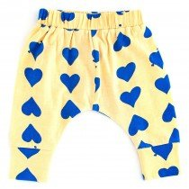 nadadelazos - Baby Organic Pants - Pop Hearts