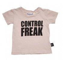 NUNUNU - Control Freak - Short Sleeve Tee Shirt in Pink