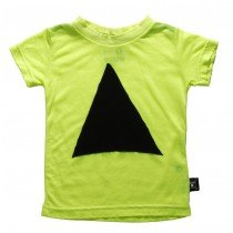 NUNUNU - Patch Short Sleeve Tee Shirt in Neon