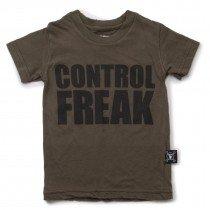 nununu - CONTROL FREAK - Tee Shirt in Olive