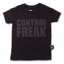 nununu - CONTROL FREAK - Tee Shirt in Black