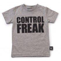 nununu - CONTROL FREAK - Tee Shirt in Grey