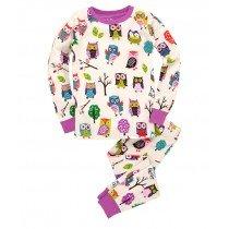 Hatley PJs - Party Owls - Girl's Long Sleeve PJ Set