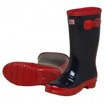 Hatley - Girls Classic Navy Wellington Boots
