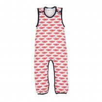 l'asticot - romper lounger - salmon fish