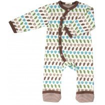 Organics for Kids - Acorn Romper - Multi Coloured