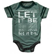 Rowdy Sprout - Let It Be - Babygrow