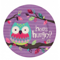 Hatley - Bamboo Plate - Party Owls