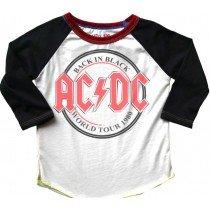 ROWDY SPROUT - AC/DC - Raglan TEE