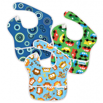 Bumkins Super Bib - 3 Pack Boys