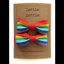 lottie nottie - Rainbow Hair Bows