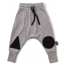 nununu - PATCH - Baggy Pants in Heather Grey