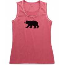 Womens PJ Vest Top - HATLEY - Black Bears