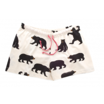 Womens PJ Boxers - HATLEY - Black Bears