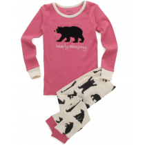 Hatley - Girls Pyjamas - Bearly Sleeping