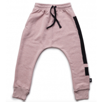 nununu powder pink baggy pants - EXCLAMATION