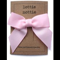 lottie nottie - Classic Pink Bow Hair Clip