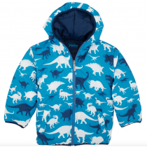 Hatley - Boys Reversible Winter Puffer - Dinos