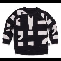 nununu PUNCTUATION! sweater - black