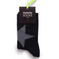 nununu - Star Socks in Black
