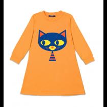 Louvea - DUCIE CAT - Long Sleeve Dress