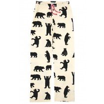 Women's PJ Pants - HATLEY - Black Bears