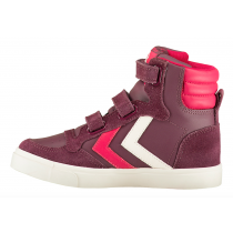 Hummel Trainers - Stadil Oiled High Sneaker - Crushed Violets