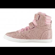 Hummel Trainers - Slimmer Stadil Glitter Sneaker - Lilas Pink