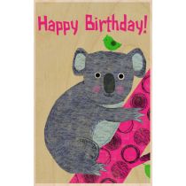 SKiN&BLiSS Birthday Card - KOALA