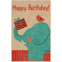 SKiN&BLiSS Birthday Card - Elephant