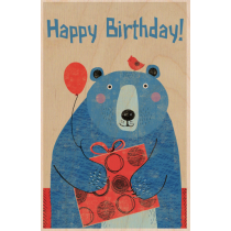 SKiN&BLiSS Birthday Card - BEAR