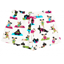 Womens PJ Boxer - HATLEY - Yoga Bear