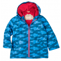 Boys Hatley Splash Raincoat - Rocketships