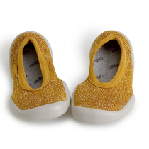 Collegien Slippers for Mum - Ballerina Moutarde