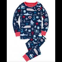 Boys Pyjamas - HATLEY Vintage Nautical PJ Set