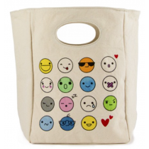 FLUF - ORGANIC LUNCH BAG - emoji