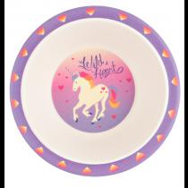 Hatley - Bamboo Bowl - Unicorn