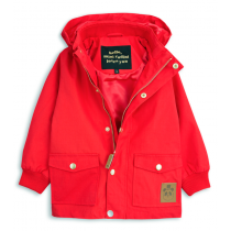 mini rodini - PICO JACKET - Red