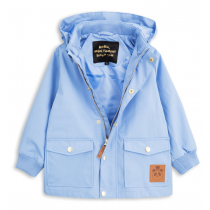 mini rodini - PICO JACKET - Light Blue