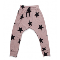 nununu - STAR BAGGY PANTS - powder pink
