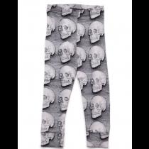 nununu - SKULL LEGGINGS - grey