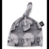 nununu - SKULL HAT - heather grey