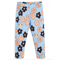 mini rodini - ORGANIC LEGGINGS - Flowers