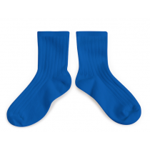 Collegien Ankle Socks - Bleu Eclatant