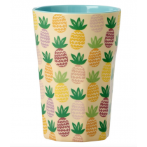 Rice - Tall Melamine Cup - Pineapple