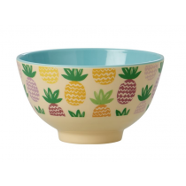 Rice - Small Melamine Bowl - Pineapple