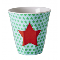 Rice - Kids Melamine Cup - Star Print