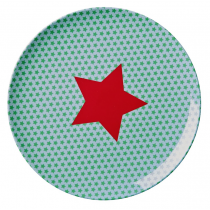 Rice - Kids Lunch Plate - Star Print